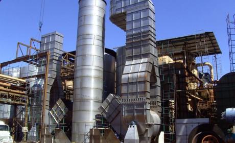 Lavador de gases - usina Alta Mogiana