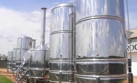 Inox em cervejaria
