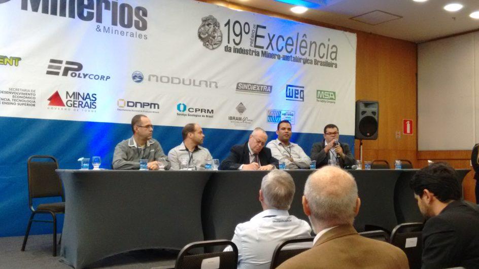 A Aperam esteve presente no workshop sobre Redução de Custos na Mina e Planta, em Belo Horizonte