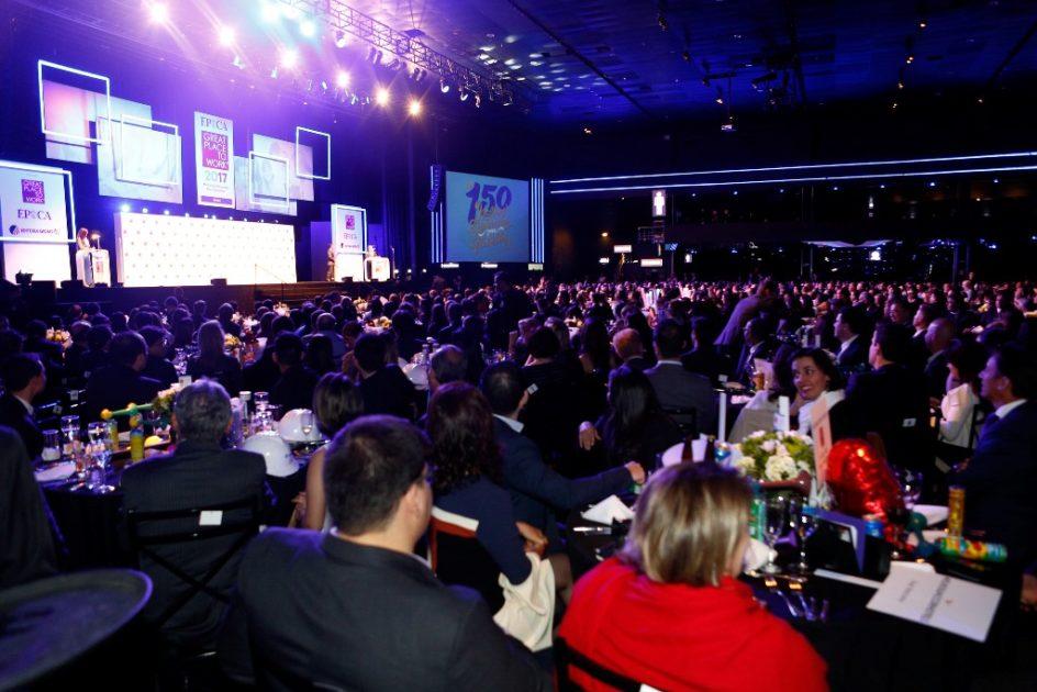 O evento contou com atrações diversas entre cada premiação