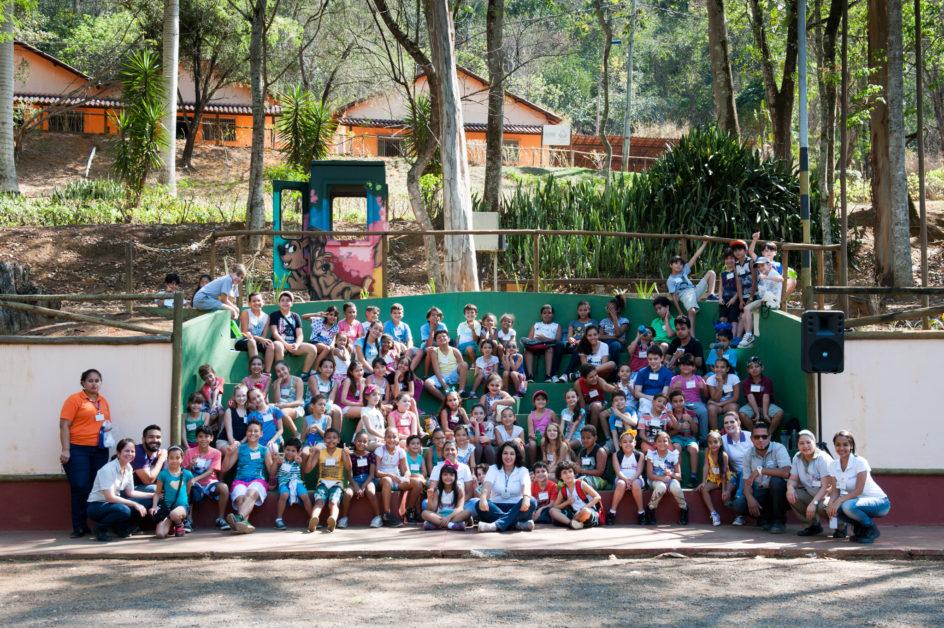 Média de 90 crianças participaram em cada dia