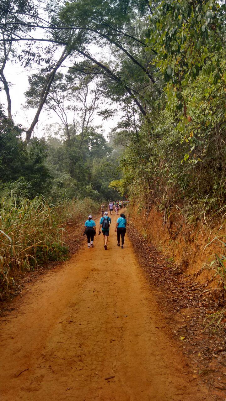 Os participantes farão um percurso de 14km (ida e volta), com duração aproximada de três horas.