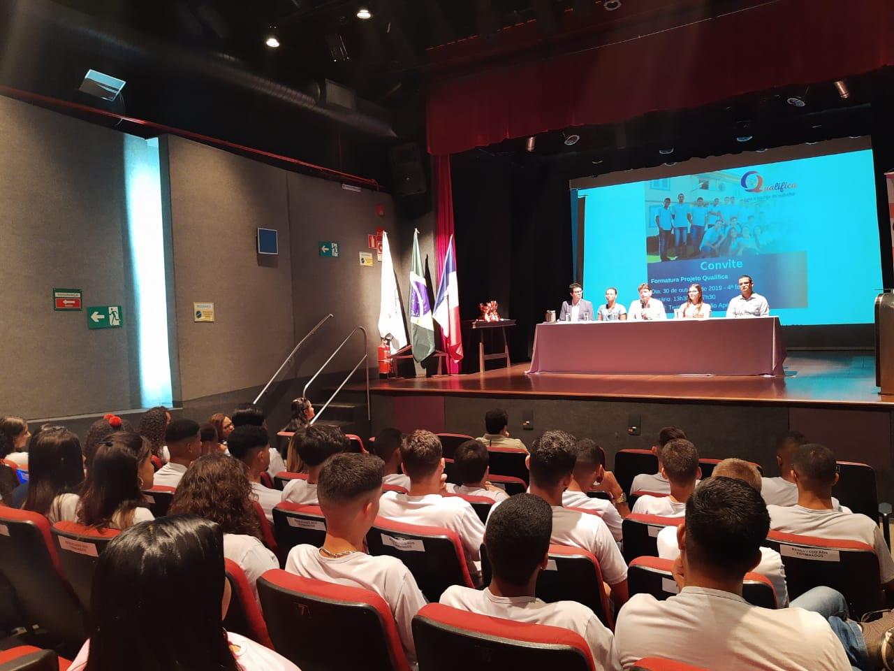 O projeto nasceu da convergência de interesses de instituições e parceiros alinhados à política de atendimento aos direitos da criança e do adolescente.